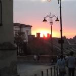 Abendstimmun in Sibiu